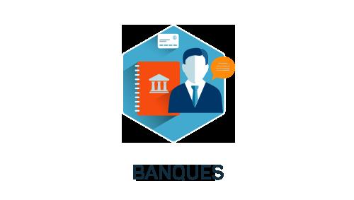 Nos métiers : banque