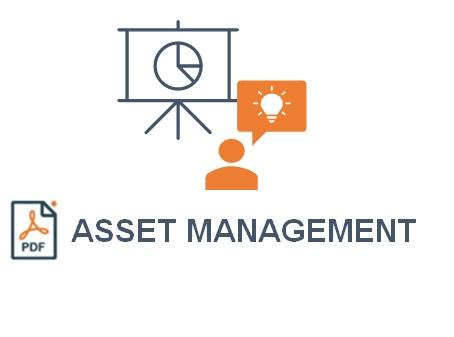 Nos métier : Asset management