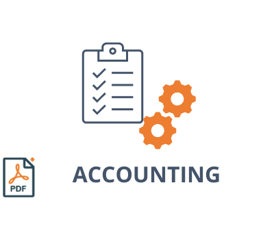 Our business lines : Accounting